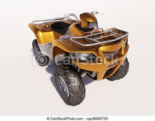 ATV Quad Bike - csp36693703