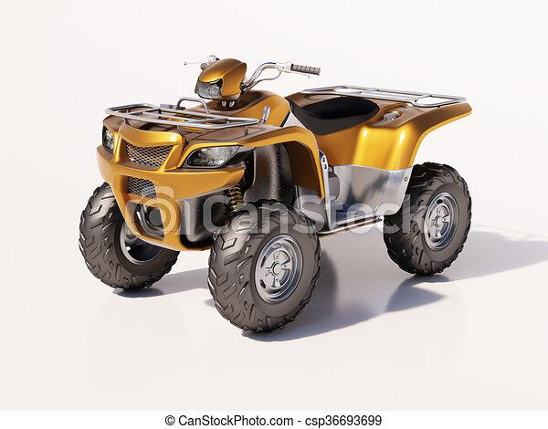 ATV Quad Bike - csp36693699