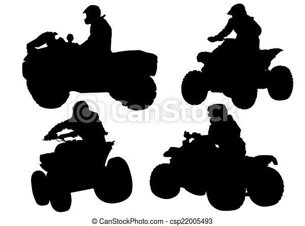 ATV races - csp22005493