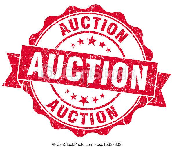 auction grunge red stamp rh canstockphoto com auction clip art pictures action clip art