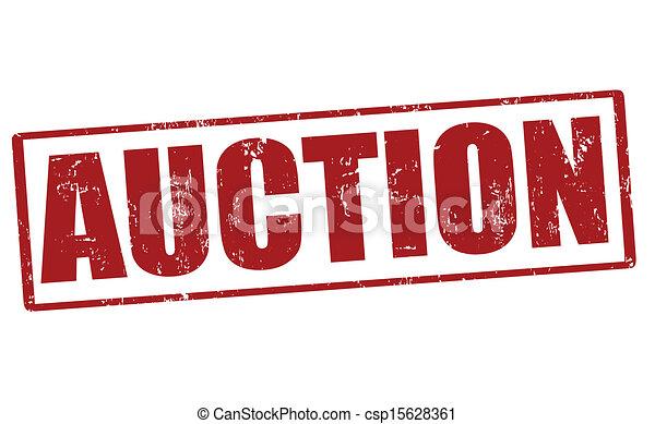auction stamp auction grunge rubber stamp vector illustration rh canstockphoto com auction clip art pictures quarter auction clip art