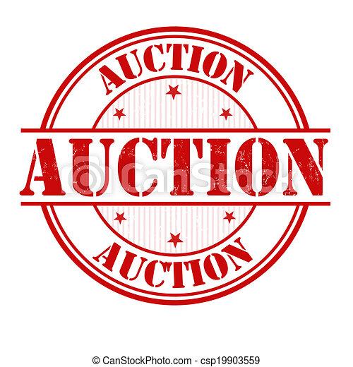 Auction stamp - csp19903559