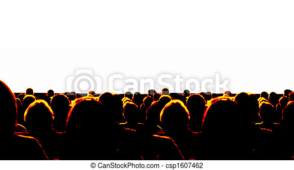 audience, business - csp1607462
