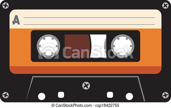 audio cassette tape rh canstockphoto com cartoon cassette tape clipart colorful cassette tape clipart