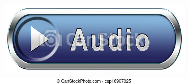 audio icon - csp16907025