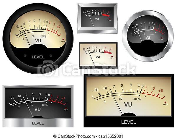 audio, meters - csp15652001
