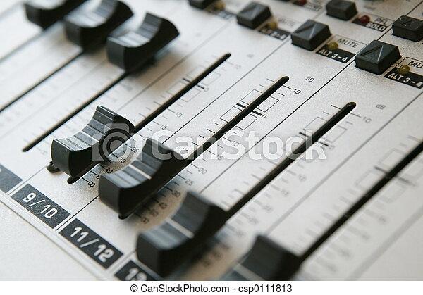 Audio Mixing panel 1 - csp0111813
