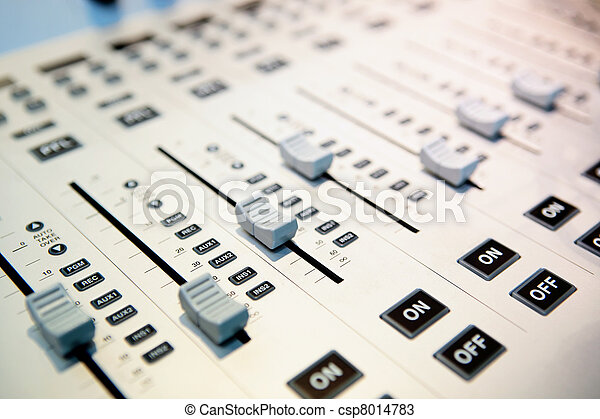 audio mixing planel - csp8014783