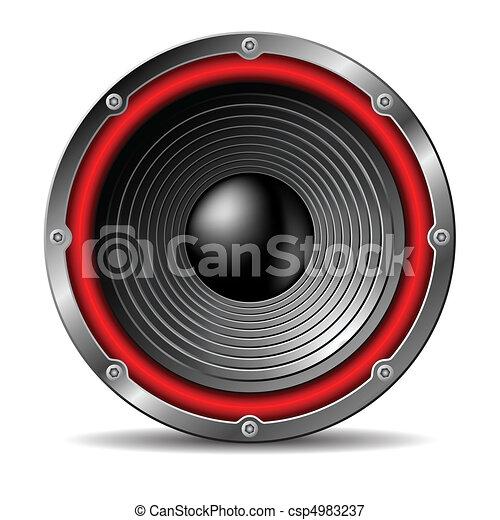 Audio speaker. - csp4983237