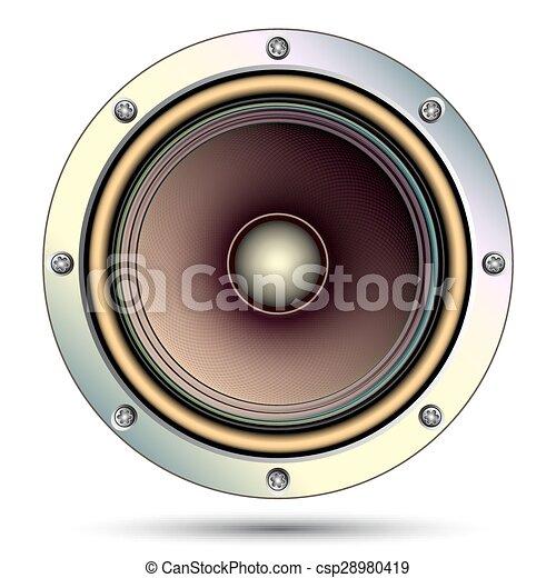 Audio speaker - csp28980419