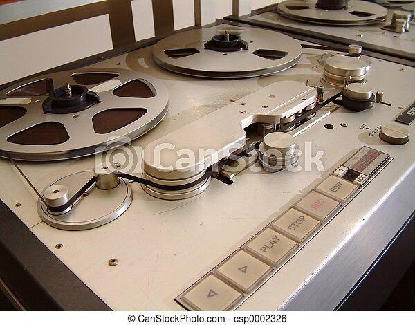 Audio Tape Recorder - csp0002326