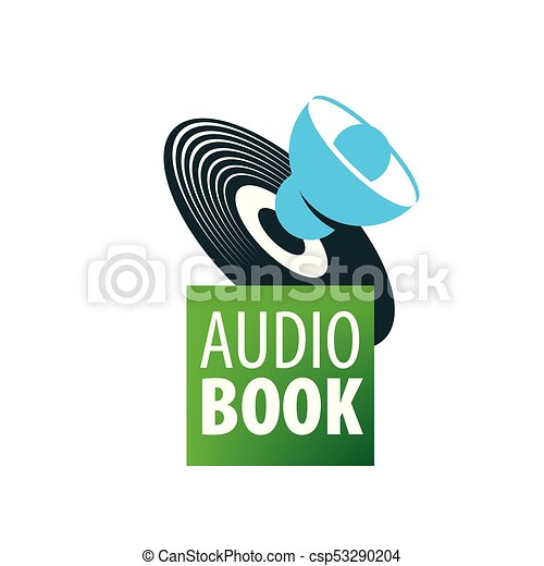 Audiobook. Vector logo template - csp53290204