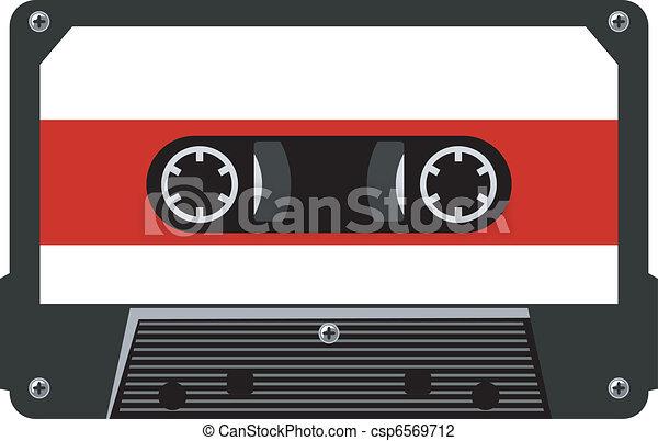 audiocassette - csp6569712