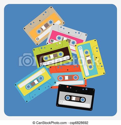 audiocassettes - csp6828692