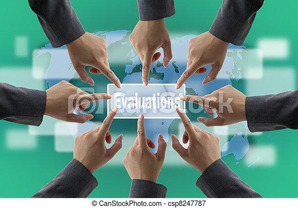 audit, évaluation performances, équipe - csp8247787