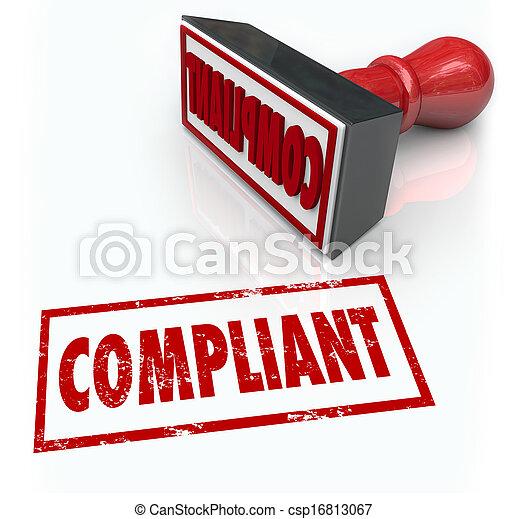 audit, classement, mot, réaction, timbre, conformité - csp16813067