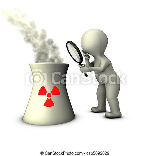 Ilustracin de archivo de auditora planta nuclear potencia  An