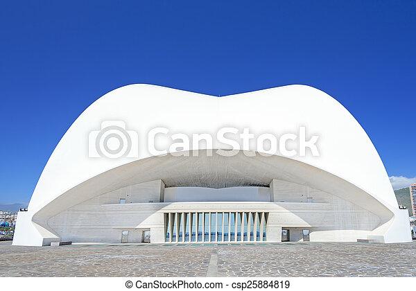 Auditorio de tenerife - csp25884819