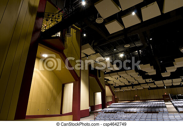 Auditorium Detail - csp4642749
