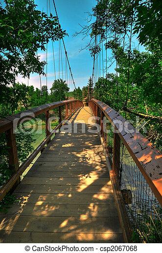 HDR-Aufhängungsbrücke - csp2067068
