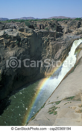 Augrabies Waterfall - csp20369194