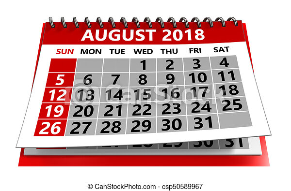 august 2018 calendar csp50589967