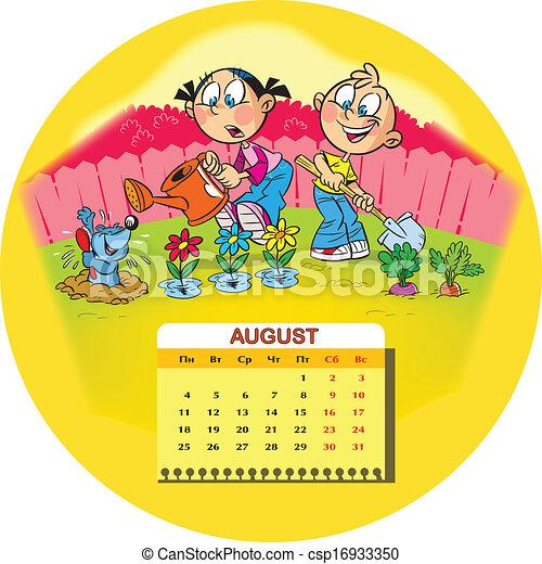 August - csp16933350