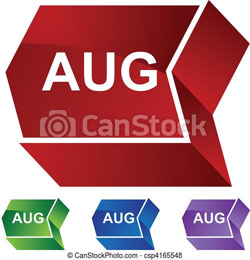 August - csp4165548