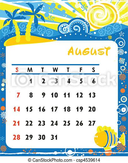 August - csp4539614