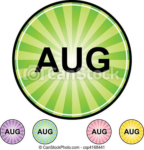 August - csp4168441
