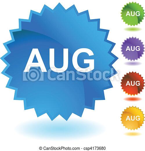 August - csp4173680