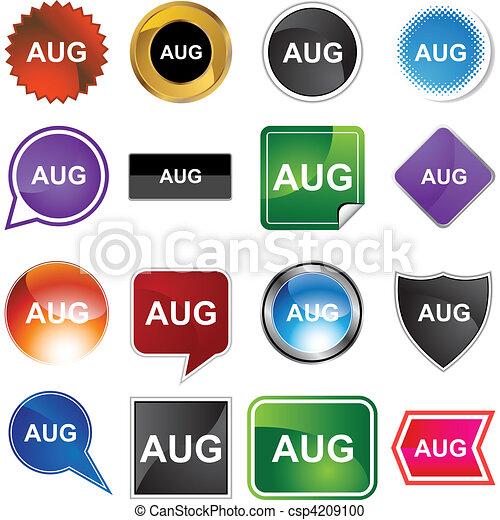 August - csp4209100