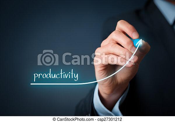 aumento, produtividade - csp27301212
