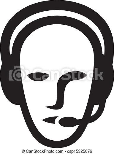 El símbolo de la cabeza - csp15325076