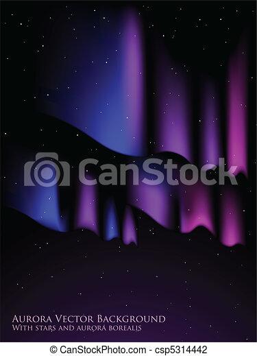 Aurora background - csp5314442