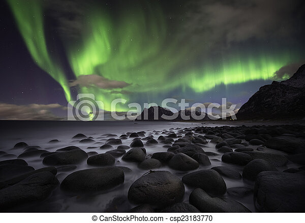 Aurora beach - csp23183770