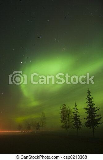 Aurora Borealis near - csp0213368