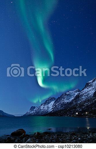 Aurora Borealis (Northern lights) - csp10213080