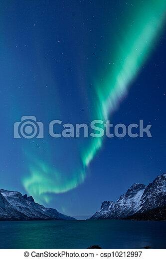 Aurora Borealis (Northern lights) - csp10212997