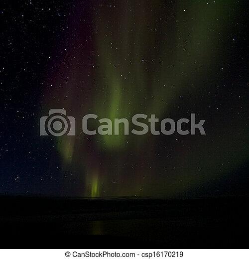 Aurora Borealis over the Bay 014 - csp16170219