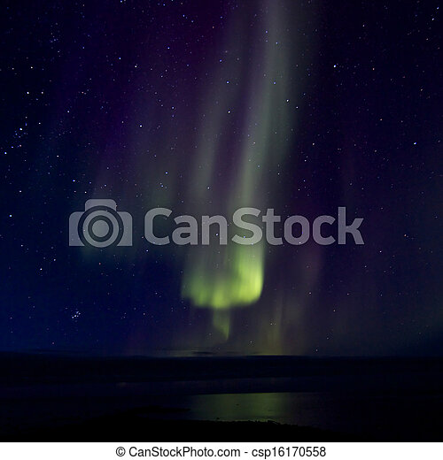 Aurora Borealis over the Bay 016 - csp16170558