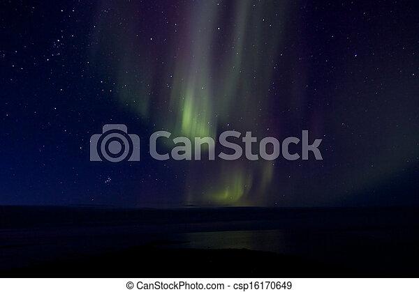 Aurora Borealis over the Bay 017 - csp16170649