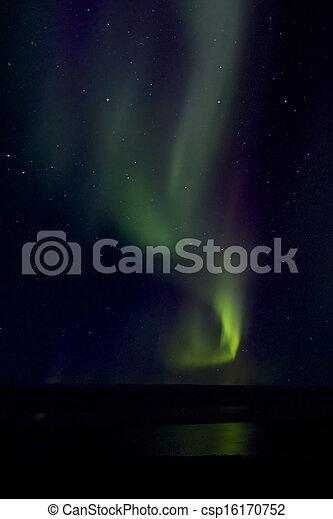 Aurora Borealis over the Bay 018 - csp16170752