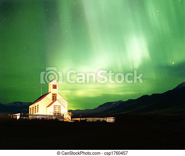 Aurora Borealis - csp1760457