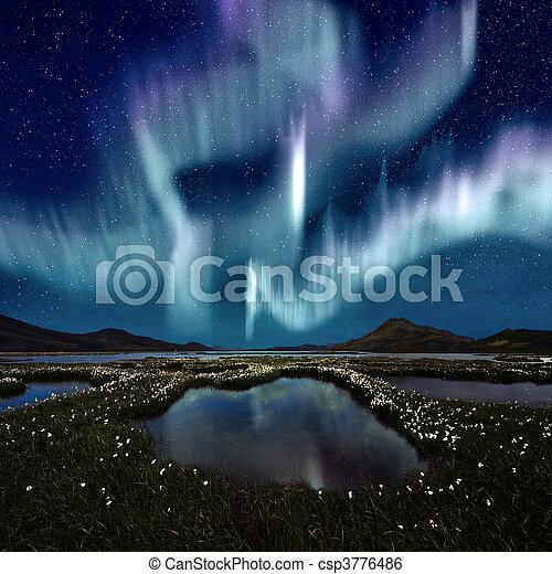 Aurora Borealis - csp3776486