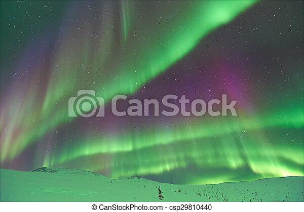 Aurora Borealis - csp29810440