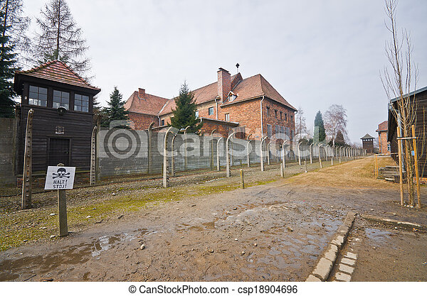 Auschwitz , Poland - csp18904696