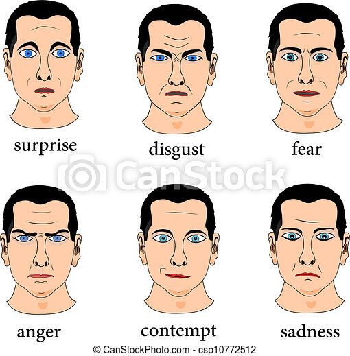 Gesichtsausdruck - csp10772512