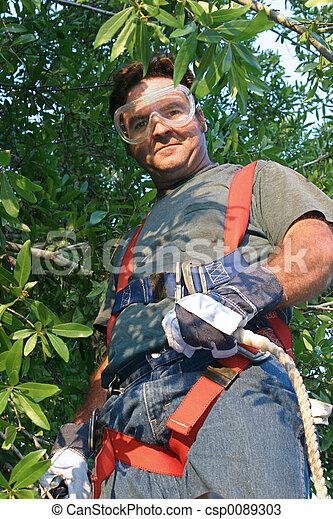 ausrüstung, arbeiter, sicherheit - csp0089303