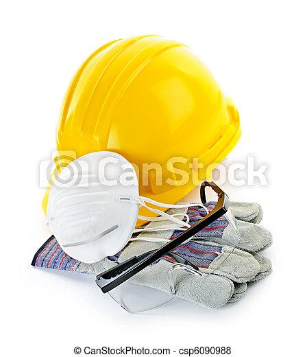 ausrüstung, baugewerbe, sicherheit - csp6090988